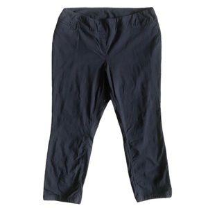 Westbound Woman Pants Black Nylon Blend 20W Short